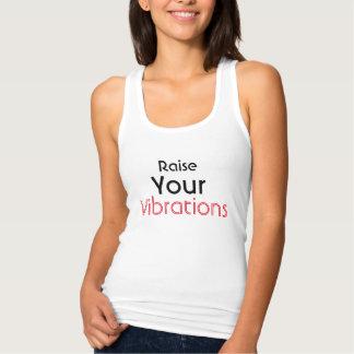 Raise Your Vibration Spiritual Typography Tank Top
