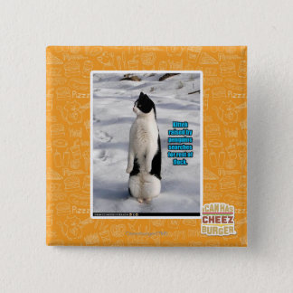 Raised by Penguins Pinback Button