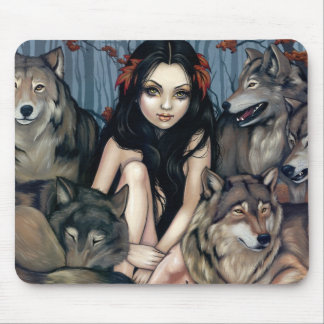 """""""Raised by Wolves"""" Mousepad"""