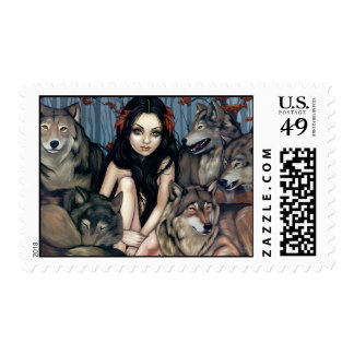 """Raised by Wolves"" Stamp"