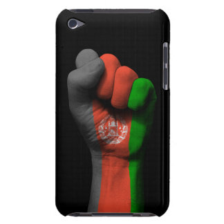 Raised Clenched Fist with Afghan Flag iPod Touch Case-Mate Case