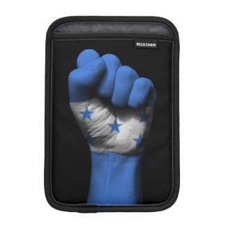 Raised Clenched Fist with Honduran Flag Sleeve For iPad Mini