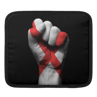 Raised Clenched Fist with Northern Ireland Flag iPad Sleeve