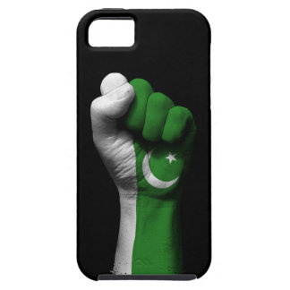 Raised Clenched Fist with Pakistani Flag iPhone SE/5/5s Case