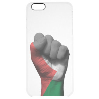 Raised Clenched Fist with Palestinian Flag Uncommon Clearly™ Deflector iPhone 6 Plus Case