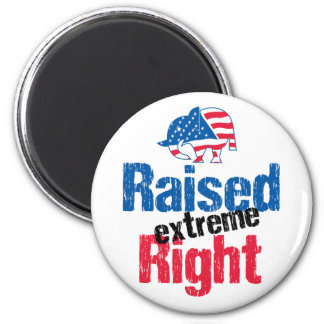 Raised Extreme Right - Republican Magnet