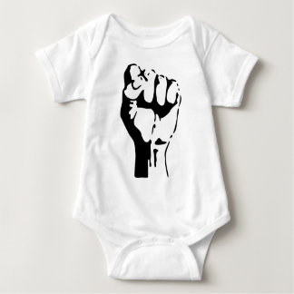 Raised Fist Baby Bodysuit
