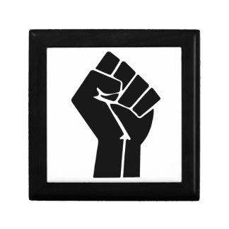 Raised Fist / Black Power Symbol Jewelry Box