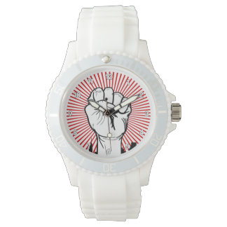 Raised Fist - Clenched Fist - Solidarty - Power Watches