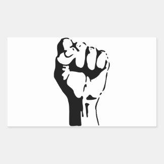 Raised Fist of Defiance/Resistance Sticker