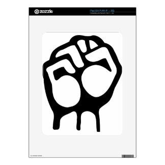 Raised Fist Skins For The iPad