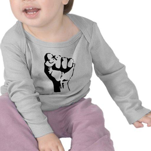 Raised Fist Tee Shirts