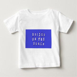Raised On The Beach Baby T-Shirt
