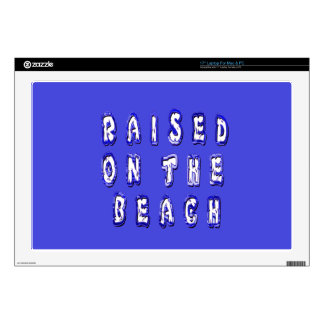 Raised On The Beach Decals For Laptops
