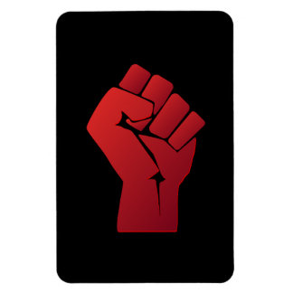 Raised Red Gradient Fist Magnet