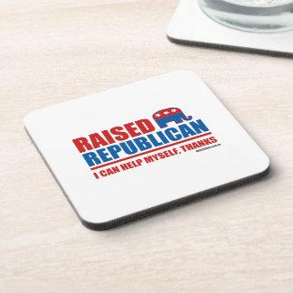 Raised Republican. I can help myself. Coasters