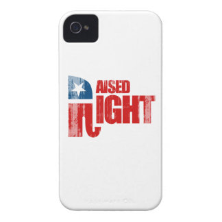 RAISED RIGHT Faded.png iPhone 4 Case-Mate Cases