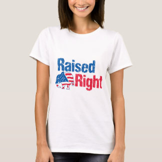 Raised Right - Republican T-Shirt