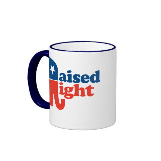 Raised Right Ringer Mug