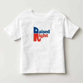 Raised Right Toddler T-shirt