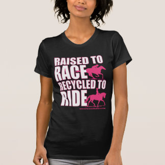 Raised To Race Recycled To Ride T-shirt