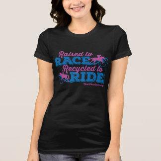 Raised to Race Thoroughbred Version Tee Shirt
