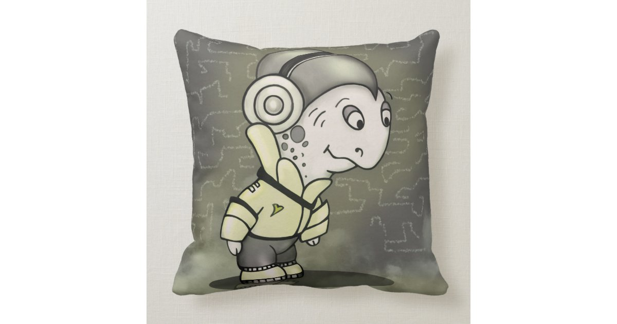 Should I Throw Away Old Pillows : RAISELLE ALIEN Throw Pillow 20 X 20 Zazzle