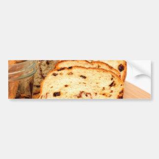 Raisin Bread And Cinnamon Bumper Sticker