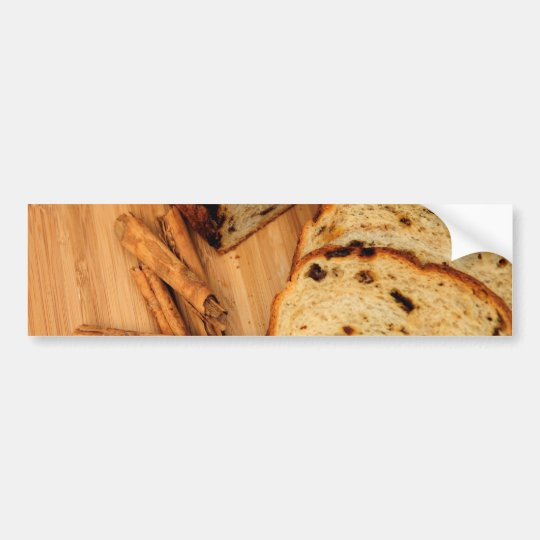 Raisin Bread And Cinnamon Bumper Sticker