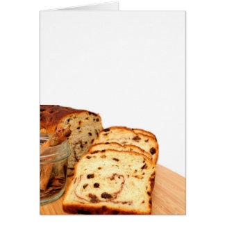 Raisin Bread And Cinnamon Card