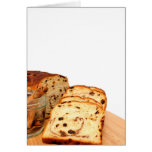 Raisin Bread And Cinnamon Greeting Card