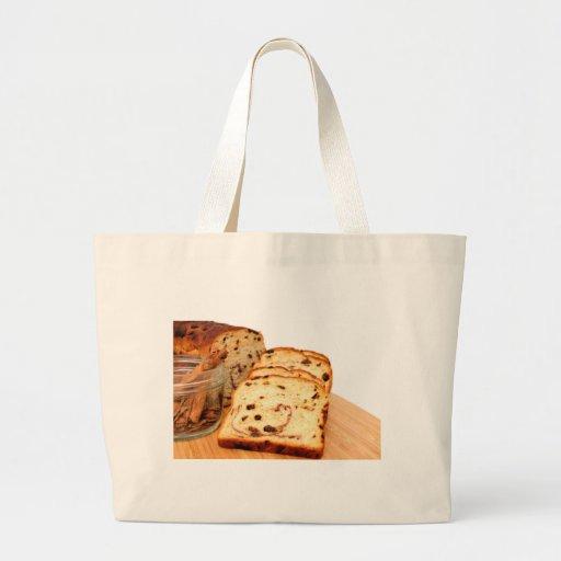 Raisin Bread And Cinnamon Jumbo Tote Bag