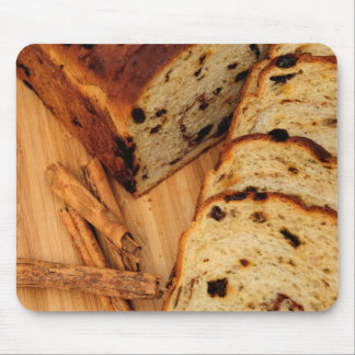 Raisin Bread And Cinnamon Mouse Pad