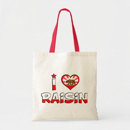 Raisin, CA Budget Tote Bag