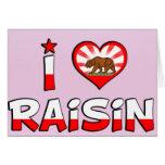 Raisin, CA Greeting Cards