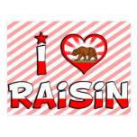 Raisin, CA Post Card