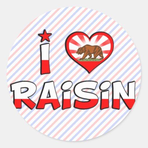 Raisin, CA Stickers