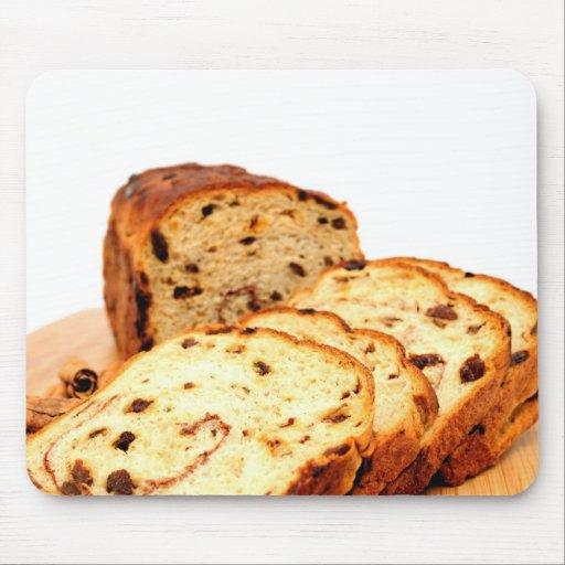 Raisin Cinnamon Bread Mouse Pad