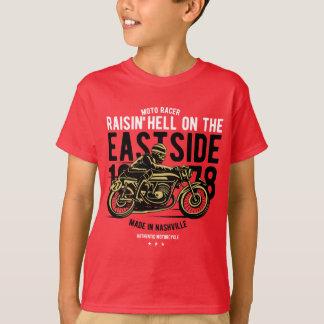 Raisin Hell Moto Racer Kids' TAGLESS® T-Shirt