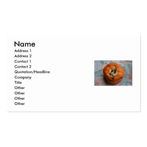 Raisin Muffin Business Card