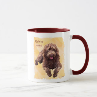 raisin zazzle 600 dpi, Bay LakeLabradoodles Mug