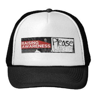 raising awareness trucker hat