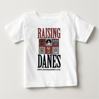 Raising Danes Logo The Color Chart Baby T-Shirt