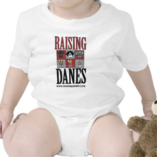 Raising Danes Logo The Color Chart Baby Creeper