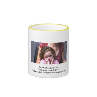 Raising Funds for Jasmine Coffee Mug