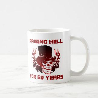 Raising Hell For 60 Years Coffee Mug