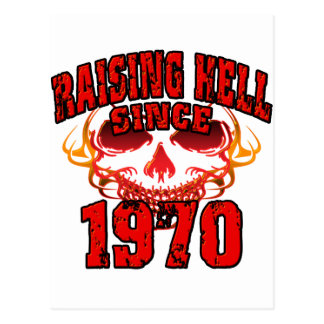 Raising Hell since1970.png Postcard