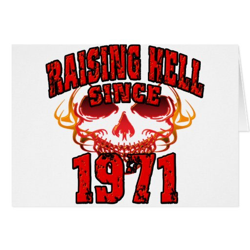 Raising Hell since 1971.png Cards
