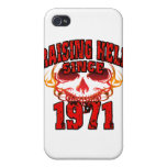 Raising Hell since 1971.png iPhone 4 Cover
