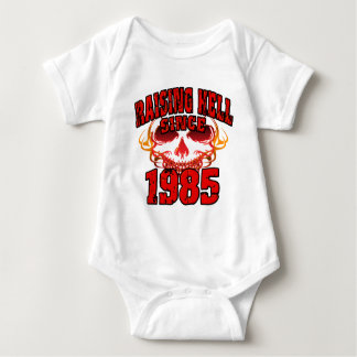 Raising Hell since 1985.png Infant Creeper